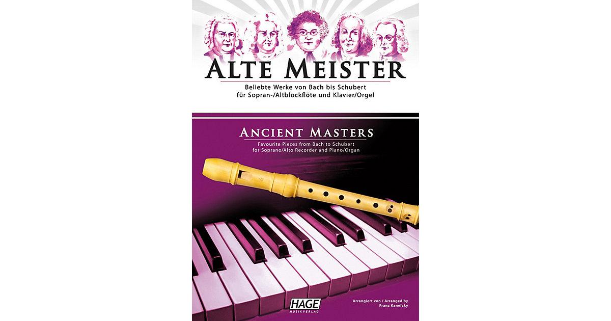 Alte Meister, Sopran-/Altblockflöte und Klavier...