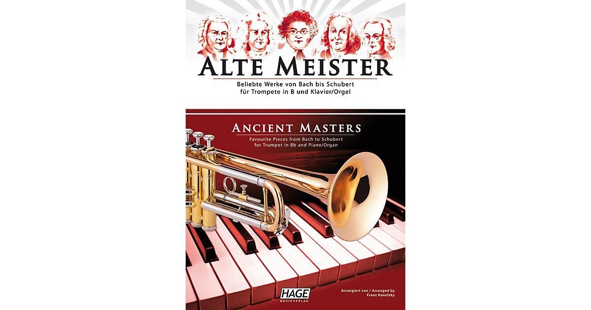 Alte Meister, Trompete in B und Klavier/Orgel, ...