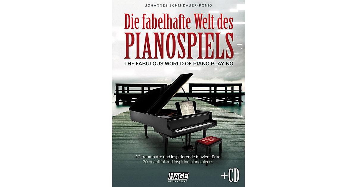 Die fabelhafte Welt des Pianospiels, mit Audio-CD