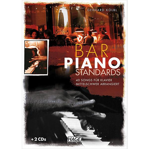 Bar Piano Standards, mit 2 Audio-CDs,