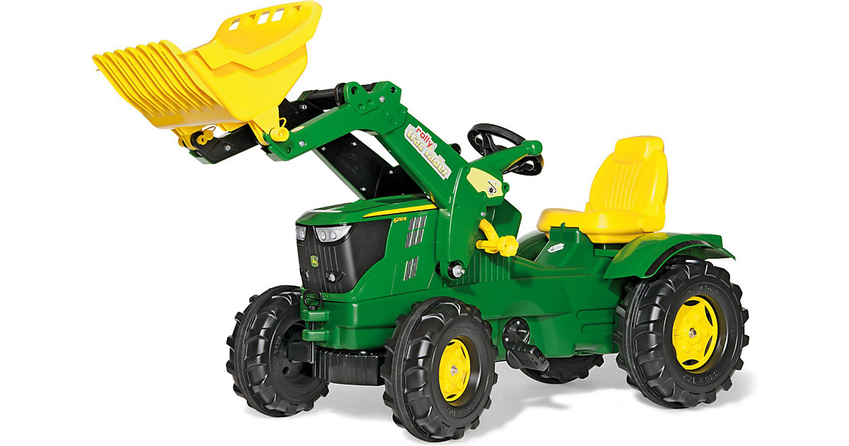 rolly toys · ROLLY TOYS Farmtrac John Deere 6210 R mit Schauffel 611096