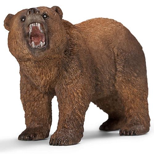 """Коллекционная фигурка Schleich """"Дикие животные"""" Медведь Гризли от Schleich"""