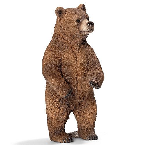 """Schleich Медведь Гризли, самка. Серия """"Дикие животные"""" от Schleich"""