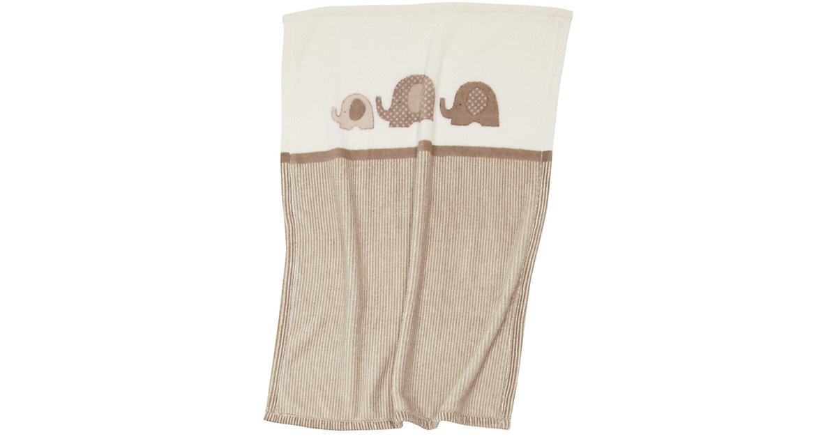 Babydecke mit UV-Schutz, Elefant, 75 x 100 cm