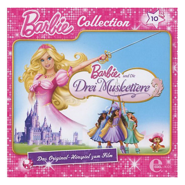 CD Barbie Collection 10 - Die Drei Musketiere