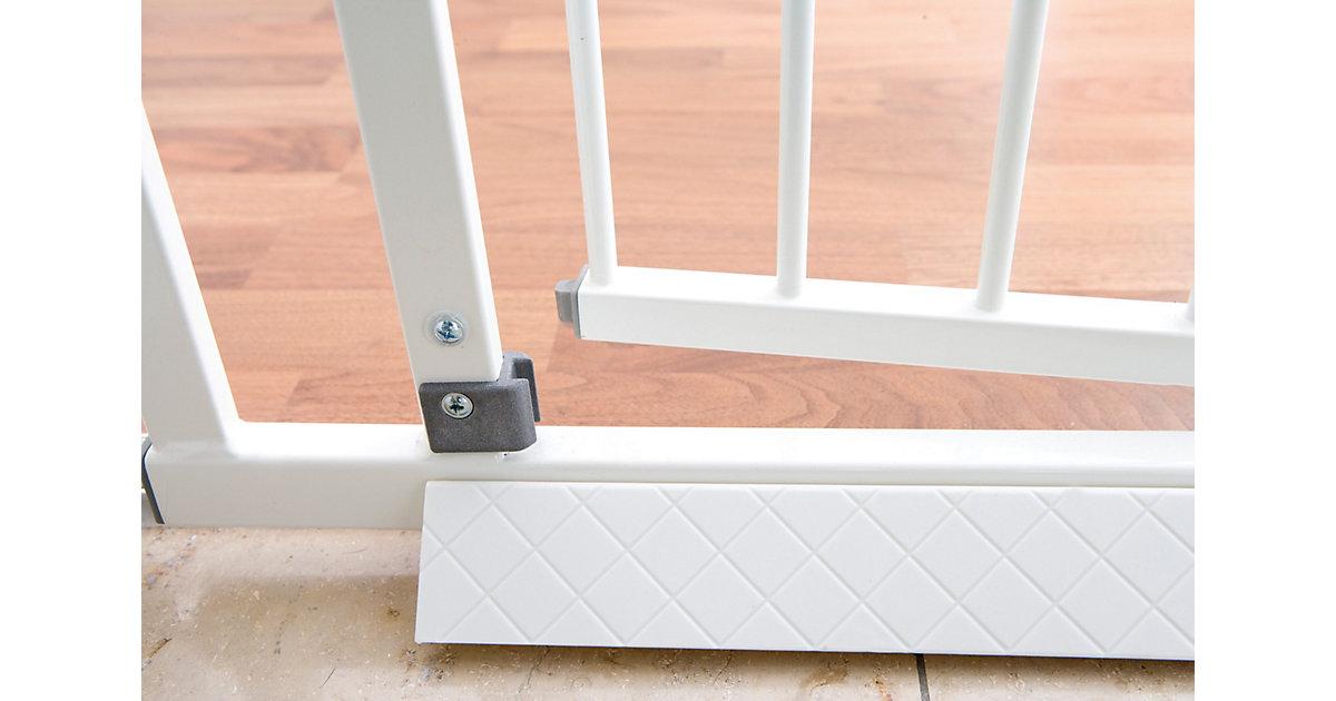 Bodenplatte Schutzgitter Easy Lock, weiß Kinder