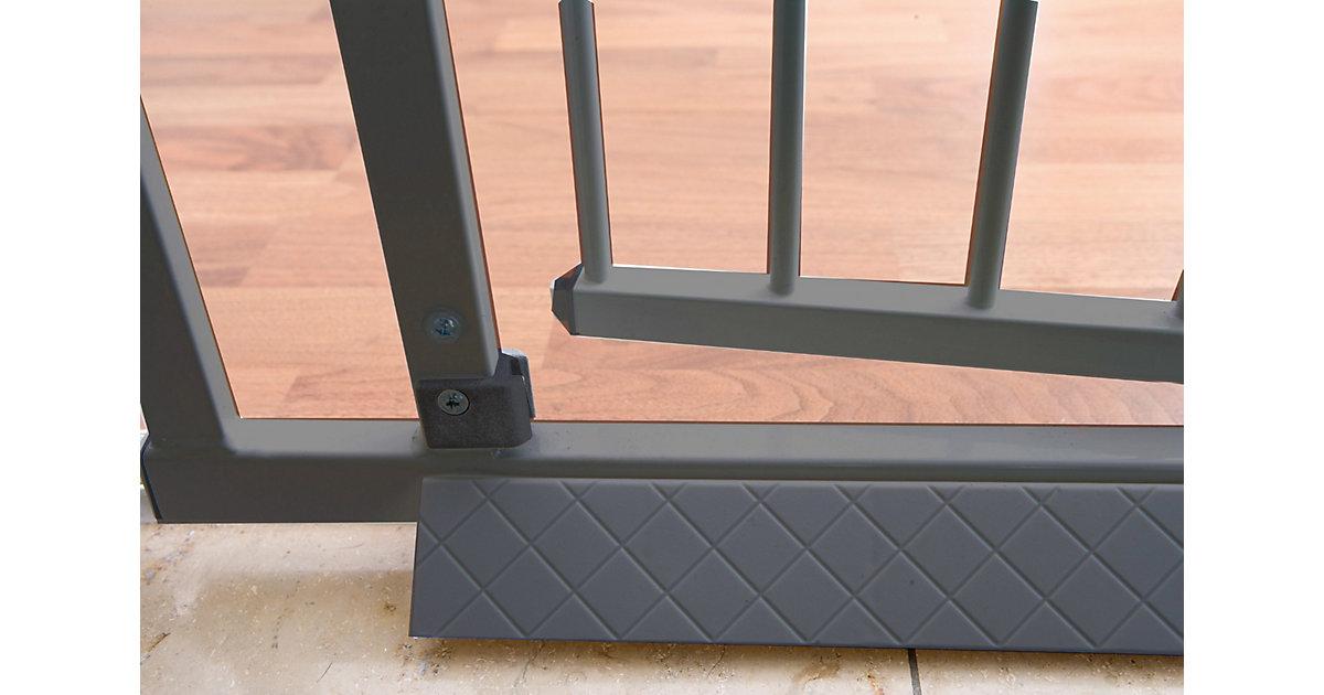 Bodenplatte Schutzgitter Easy Lock, silberfarbig Kinder