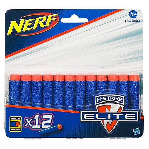 Комплект 12 стрел для бластеров, NERF от Hasbro