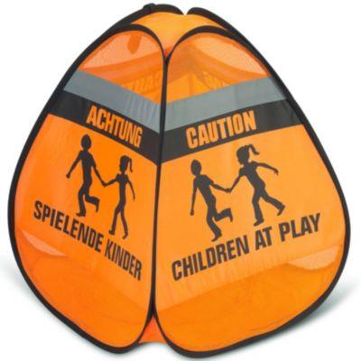 HUDORA Safety Pop Up Set Straßenwarnschild Achtung spielende Kinder