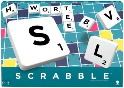 Mattel Games Scrabble Original, Gesellschaftsspiel, Brettspiel, Familienspiel, Mattel Games