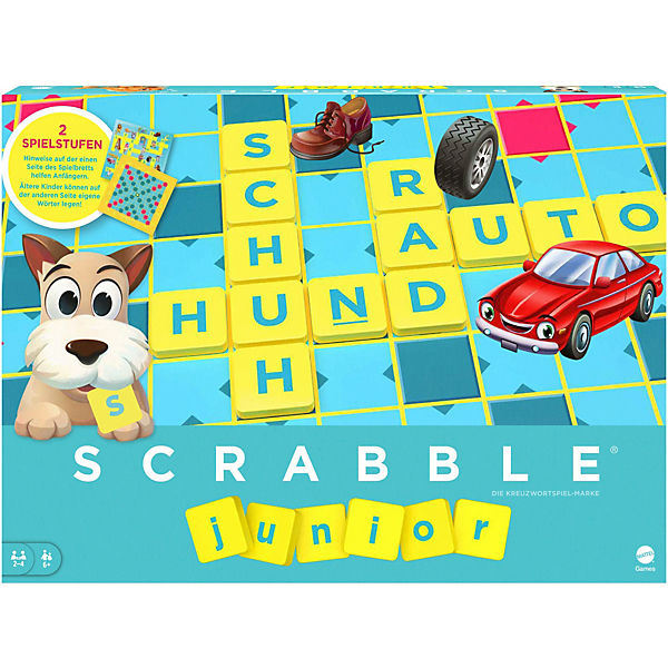 Mattel Games Scrabble Junior, Mattel Games