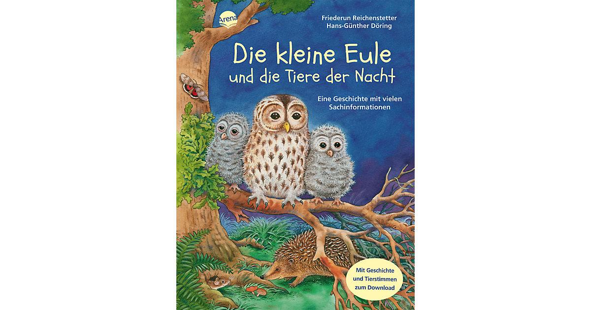 Die kleine Eule und die Tiere der Nacht, m. Audio-CD