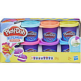Набор пластилина Play-Doh Plus, 8 банок