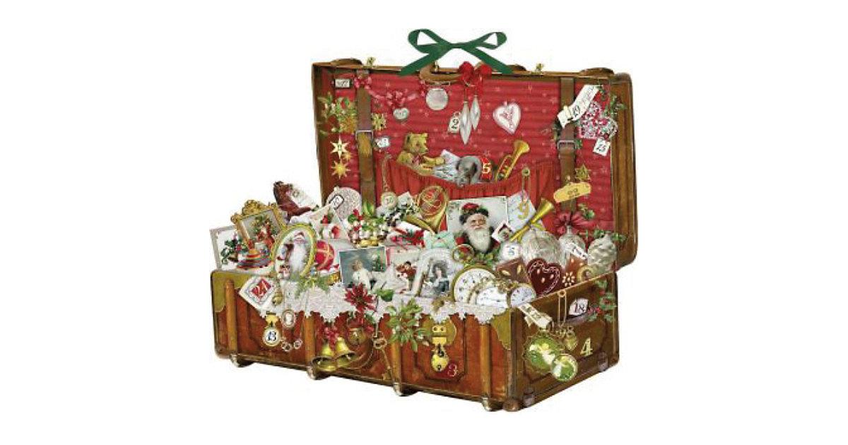 Nostalgischer Weihnachtskoffer, Adventskalender