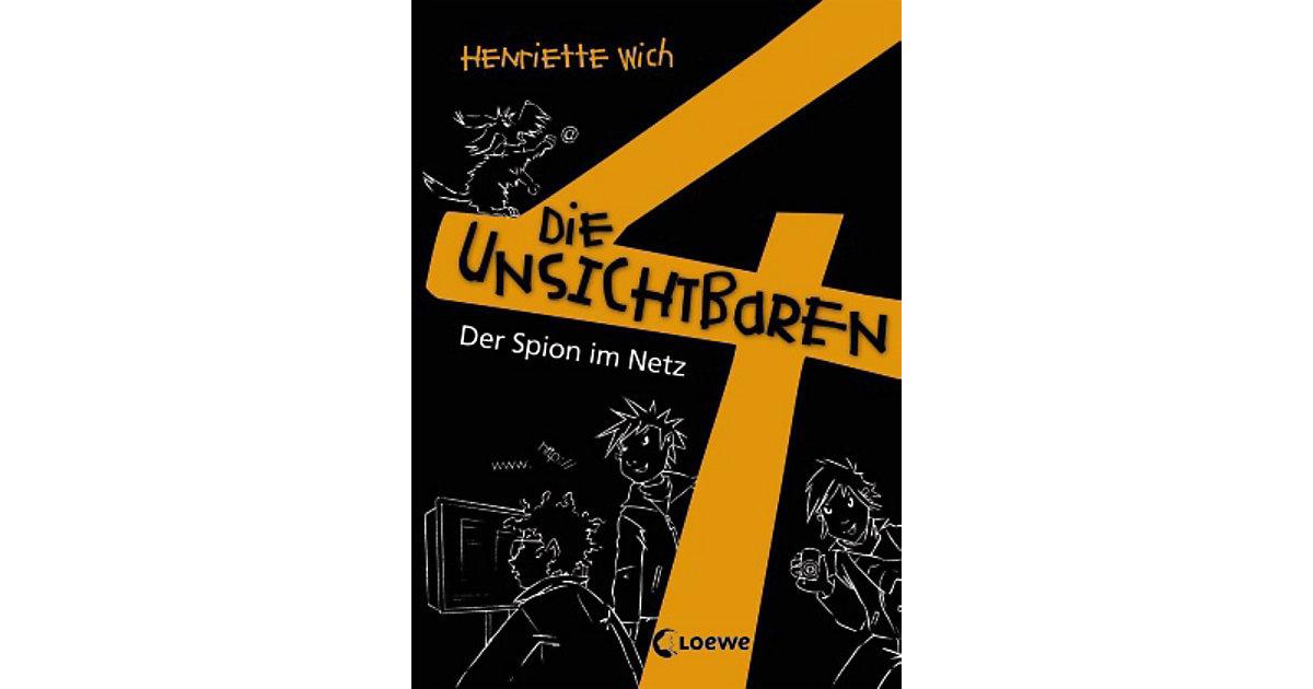 Buch - Die unsichtbaren 4: Der Spion im Netz