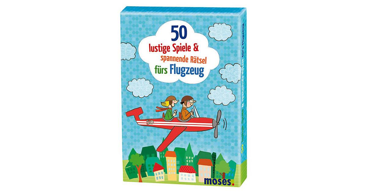 50 lustige Spiele & spannende Rätsel für´s Flug...