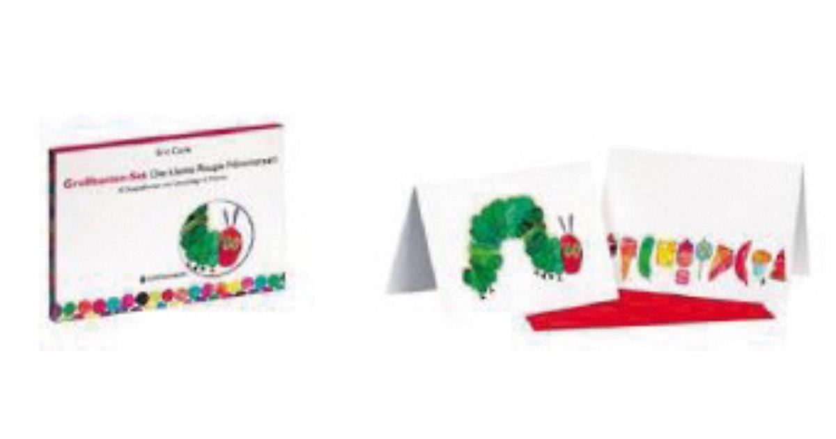 Die kleine Raupe Nimmersatt, Grußkarten-Set