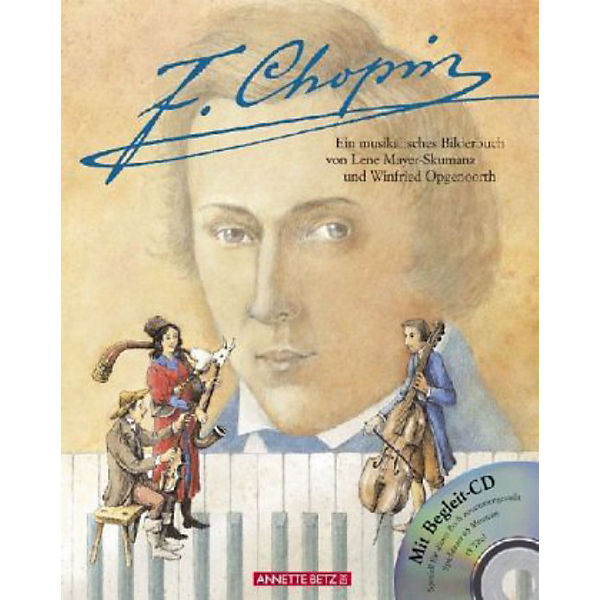 F. Chopin, mit Audio-CD