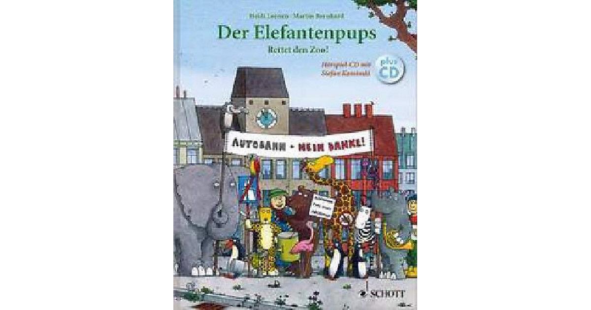 Der Elefantenpups: Rettet den Zoo!, mit Audio-CD