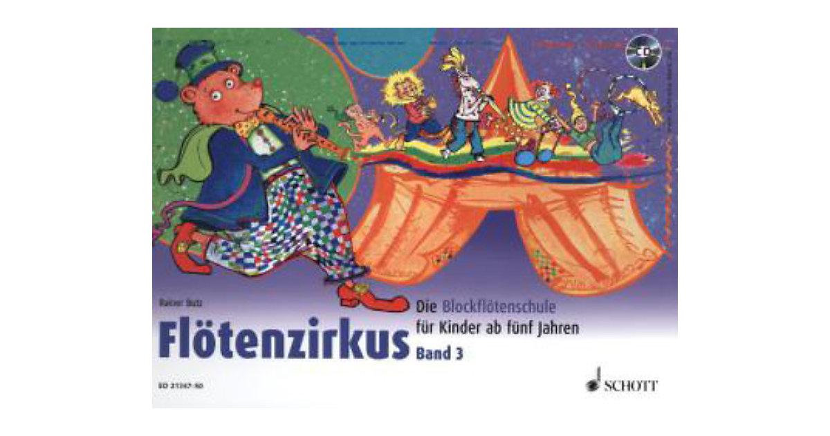 Flötenzirkus Sopran-Blockflöte, mit Audio-CD Ki...