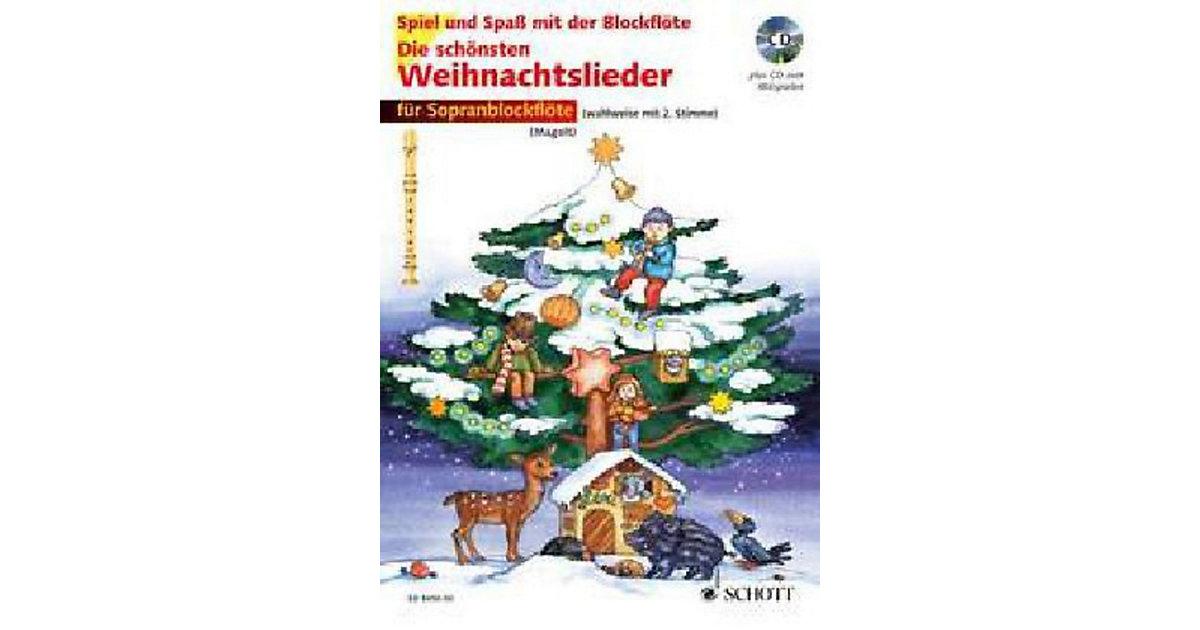 Die schönsten Weihnachtslieder Sopranblockflöte...