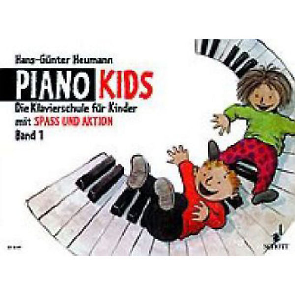 Piano Kids, Band 1 + + + Aktionsbuch 1, Hans-Günter Heumann e23f80