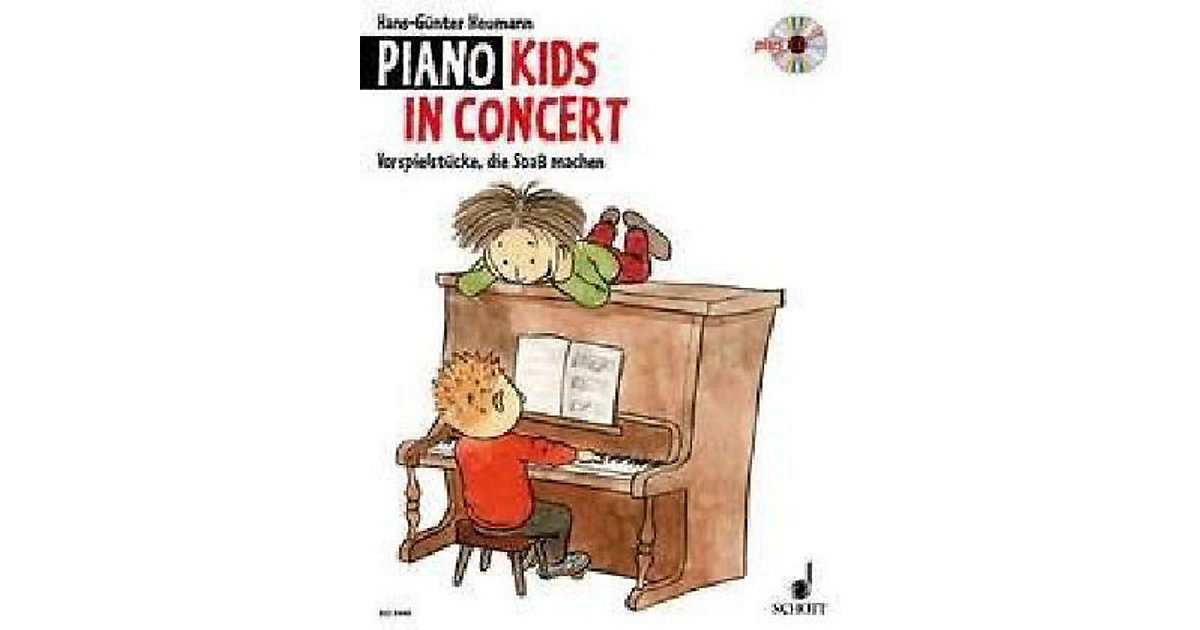 Piano Kids, In Concert, mit Audio-CD