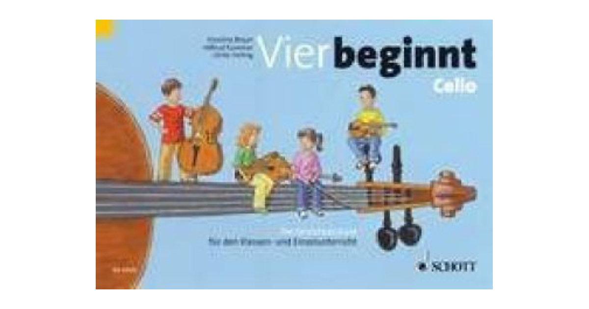 Vier beginnt - Streicherklasse, Violoncello
