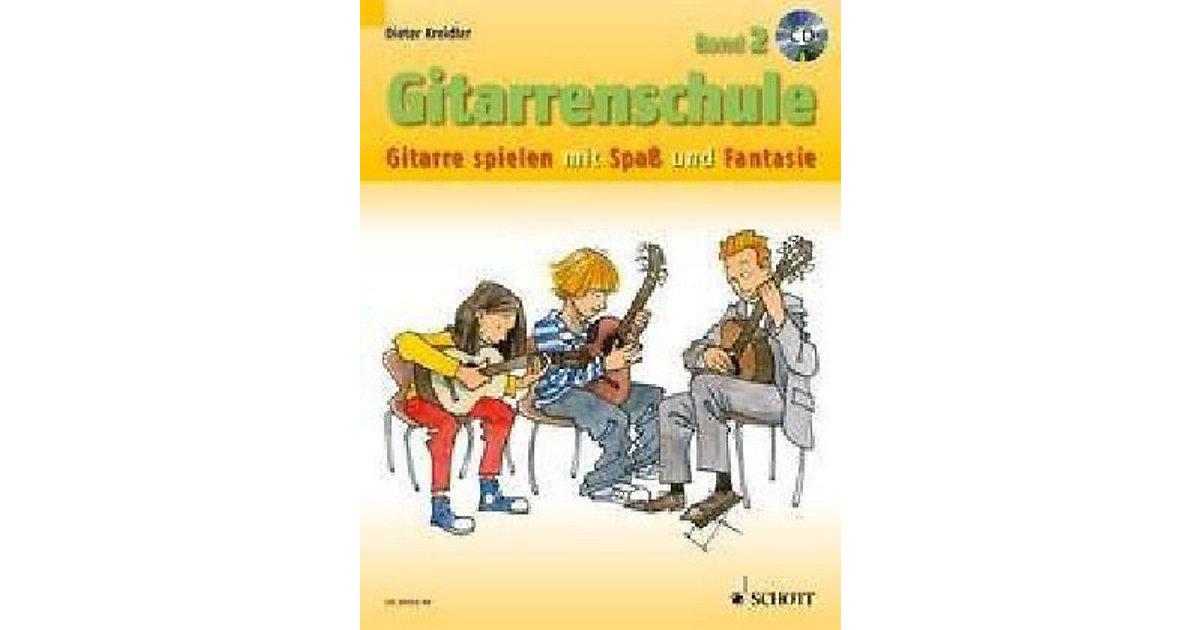 Gitarrenschule 2, mit Audio-CD