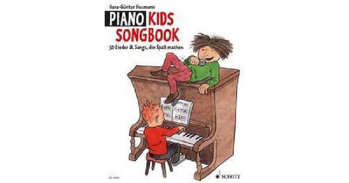 Piano Kids, Songbook