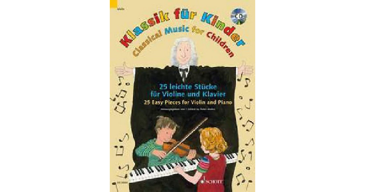 Klassik Kinder, Violine und Klavier, mit Audio-...