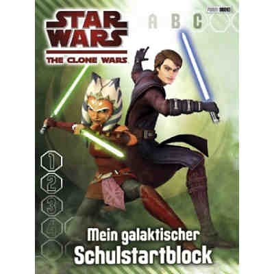 Star Wars The Clone Wars: Schulstartblock