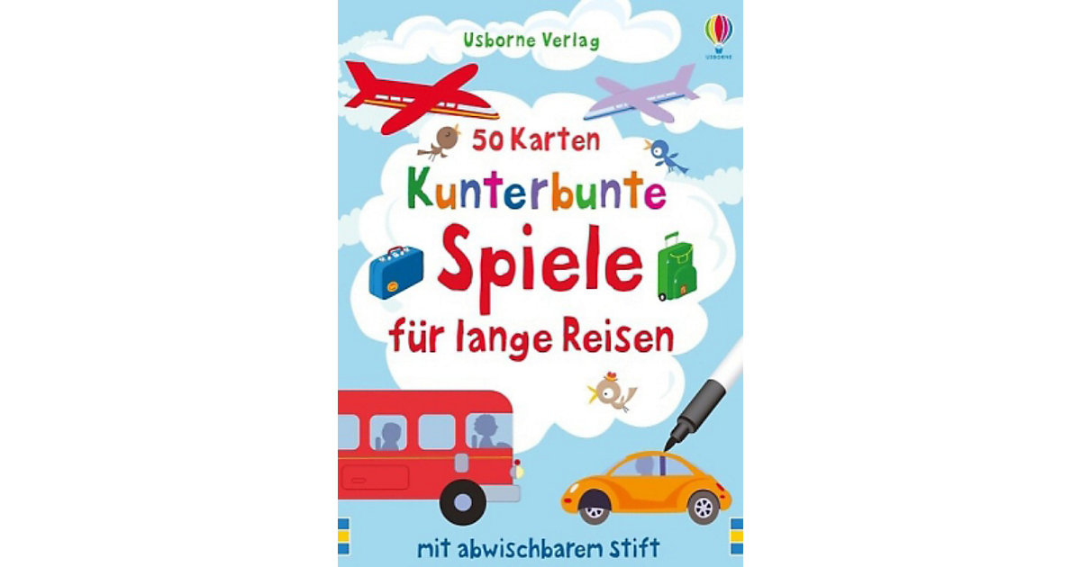 Kunterbunte Spiele lange Reisen (Spiel) Kinder