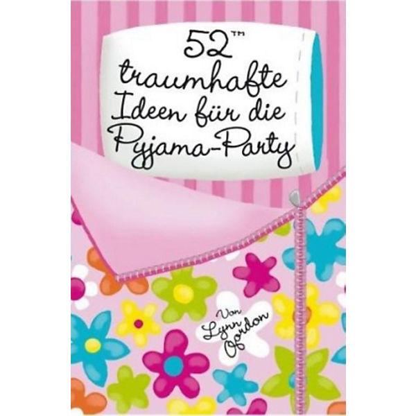52 traumhafte ideen f r die pyjama party kartenspiel lynn gordon mytoys. Black Bedroom Furniture Sets. Home Design Ideas