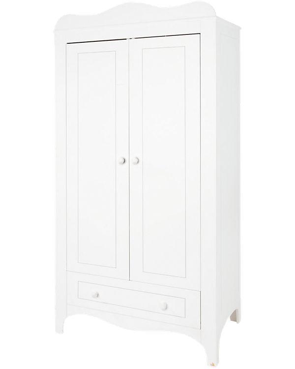 Kleiderschrank FLEUR, 2-türig, weiß edelmatt, Pinolino | myToys