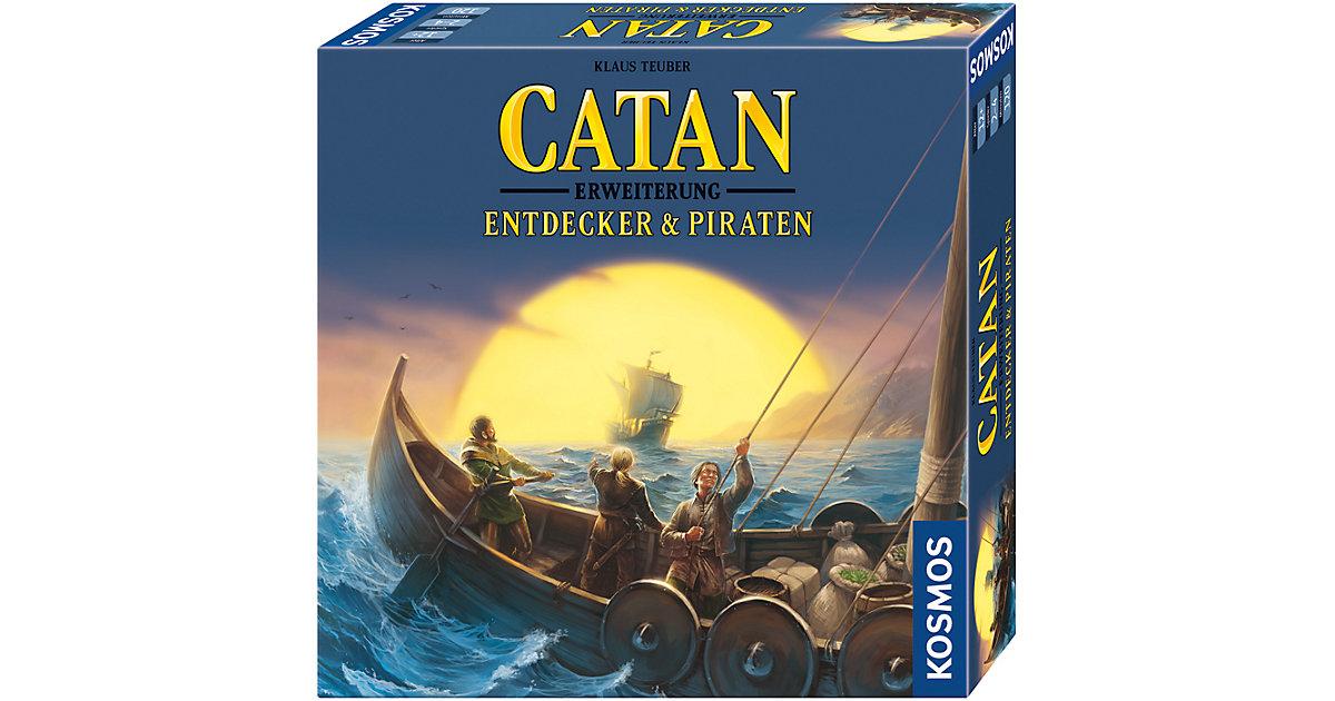 Image of Catan - Erweiterung Entdecker & Piraten 3-4 Spieler