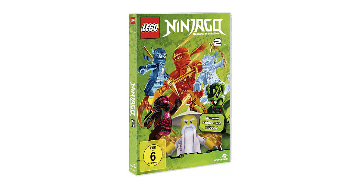 DVD LEGO Ninjago Staffel 2 (Folgen 14-26 auf 2D...