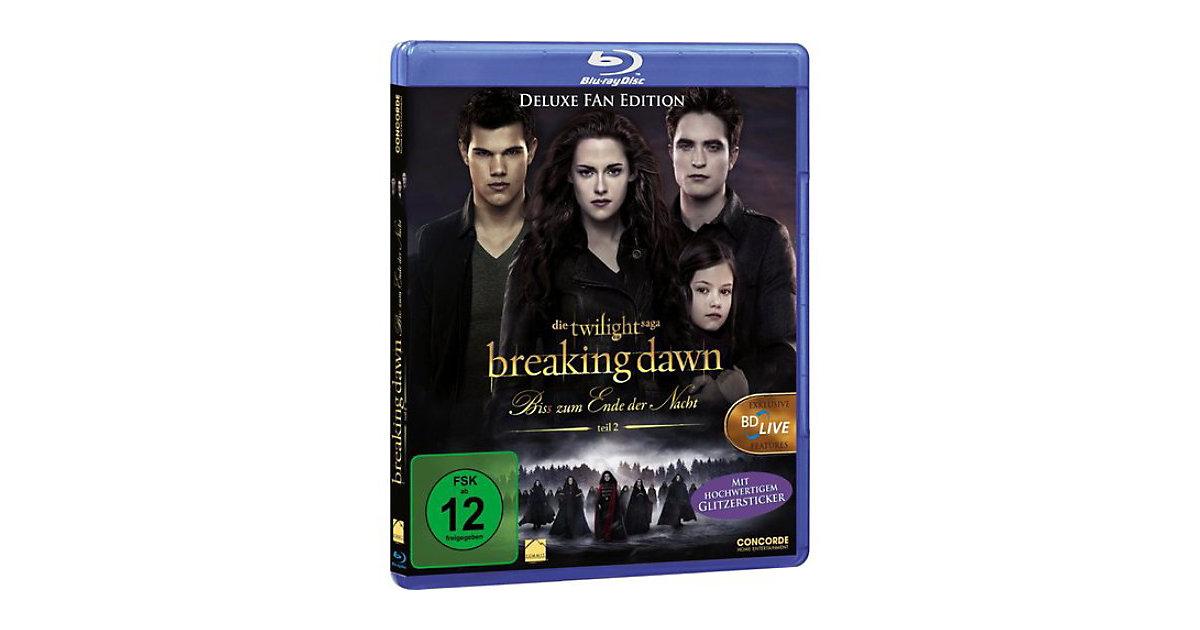 BLU-RAY Twilight Breaking Dawn - Bis(s) zum Ende der Nacht - Teil 2 Hörbuch