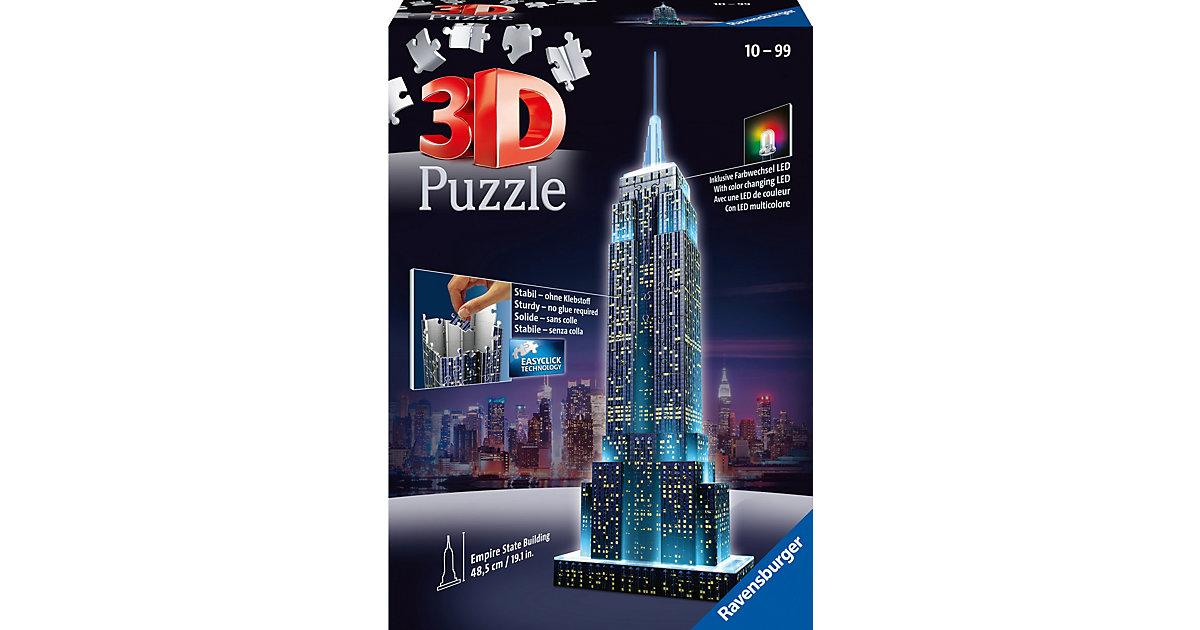 3D Gebäude Puzzle Empire State Building bei Nac...