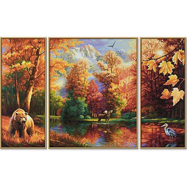 """Картина-триптих по номерам Schipper """"Осень"""", 50х80 см"""