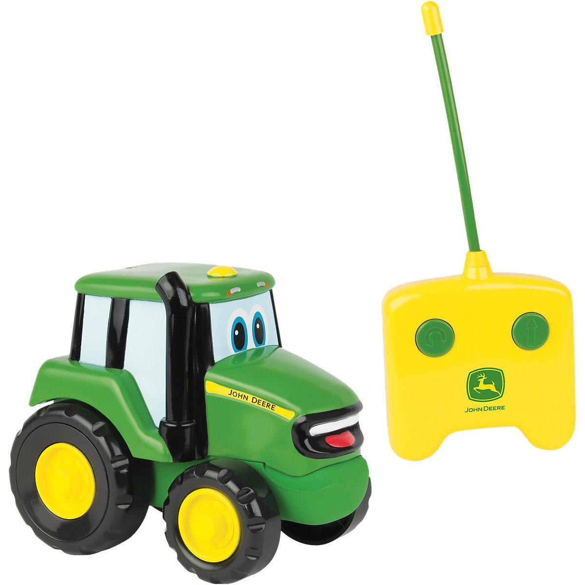 ferngesteuerter johnny traktor john deere mytoys. Black Bedroom Furniture Sets. Home Design Ideas