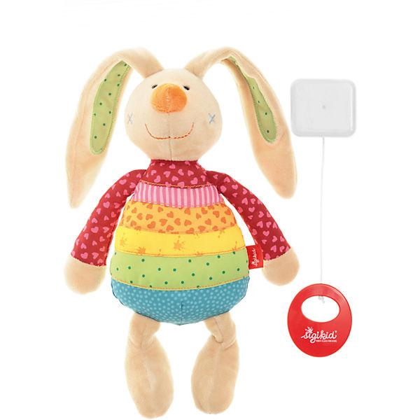 Rainbow Rabbit Spieluhr (40577), sigikid fDfbHo