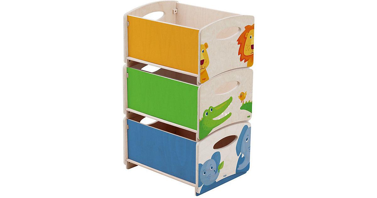HABA · Aufbewahrungsboxen, Zoo, 3er Set