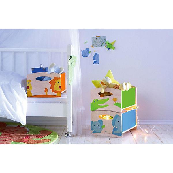 aufbewahrungsboxen zoo 3er set haba mytoys. Black Bedroom Furniture Sets. Home Design Ideas