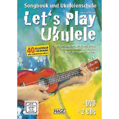 Let's Play Ukulele, mit DVD und 2 Audio-CDs