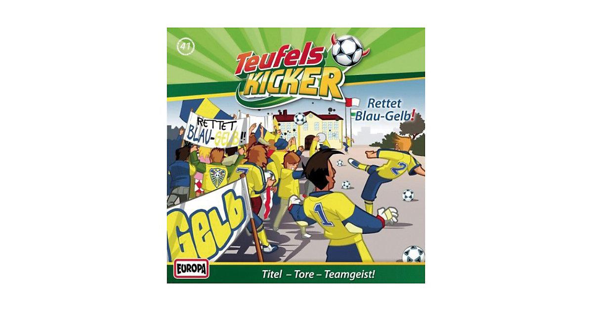 CD Teufelskicker 41 - Rettet Blau-Gelb! Hörbuch