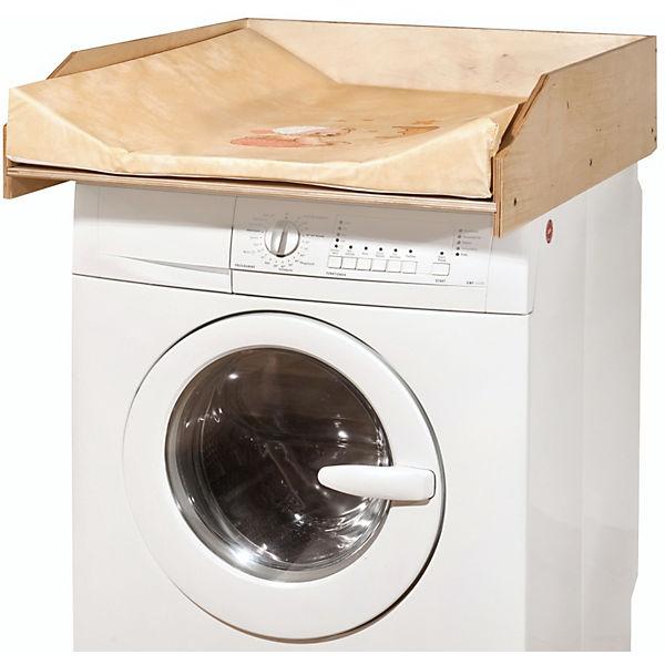 wickelauflage auf waschmaschine