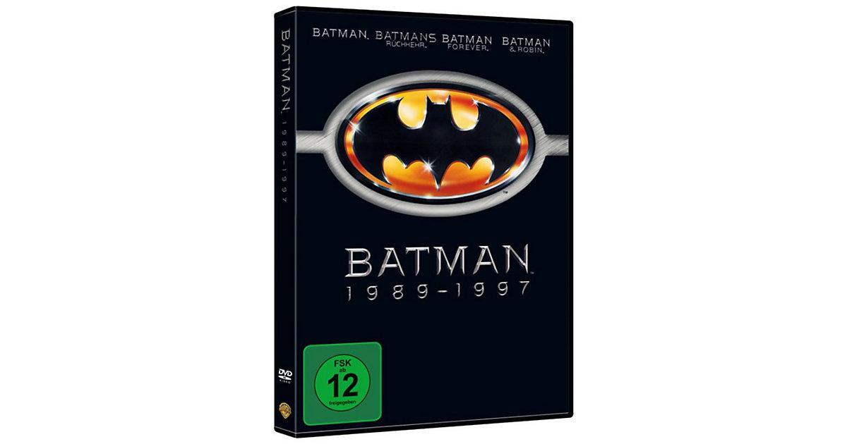 DVD Batman 1 - 4