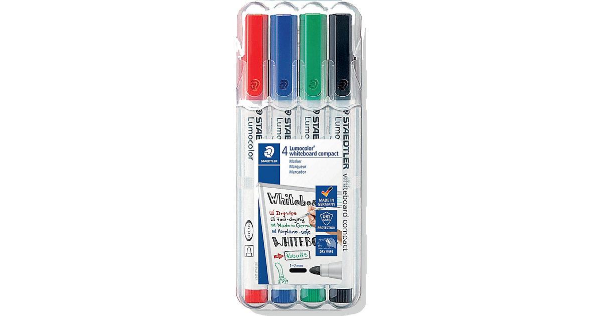 Lumocolor Whiteboard Marker Compact M, 4 Farben