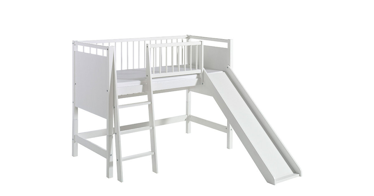 Spielbett ROCKY, weiss, 70 x 140 cm weiß